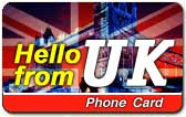 телефонная карта hello from uk